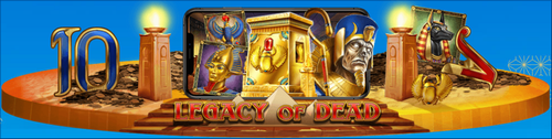 Play'n GO社から期待の新作★Legacy of Dead★